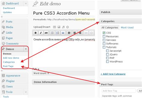 New Posts By Category by Adding Categories And Post Tags Boxes For Custom Post Type