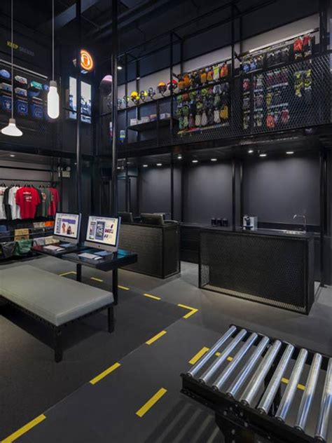 design retail environment art 4 logic durasafe store by ministry of design