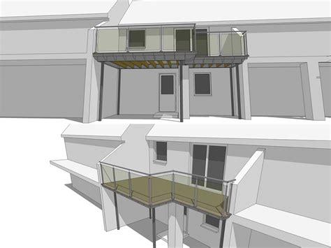 home design 3d balcony l shaped balcony 3d drawing sunrock balconies