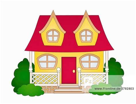 Haus Comic by Abbildung Farbe Haus Karikatur Landhaus