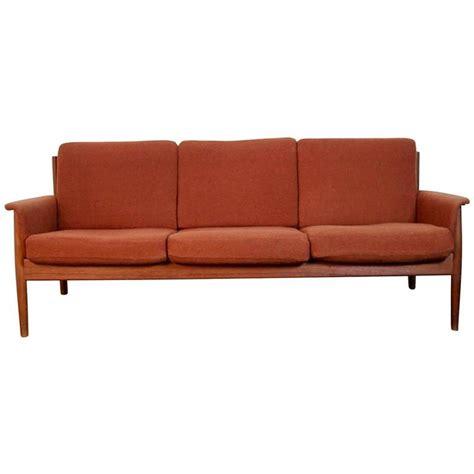 grete jalk sofa grete jalk teak sofa at 1stdibs