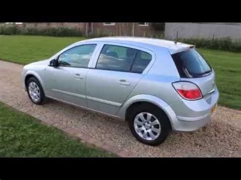 opel astra 2005 red 2005 vauxhall astra club silver youtube