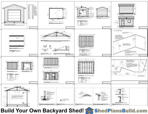garage storage building plans 12x16 garage storage shed plans