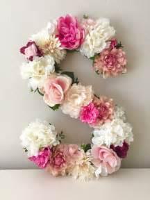 Pink Peonies Nursery by Best 25 Flower Letters Ideas On Pinterest Letter