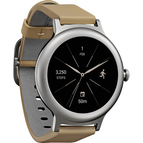 Smartwatch Lg lg style smartwatch silver lgw270s b h photo