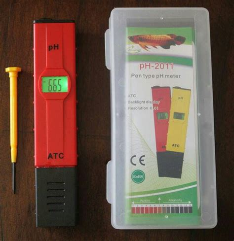 Cari Alat Ukur Ph Air jual ph meter air digital ph 2011 atc alat ukur asam