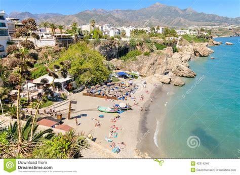 andalucia costa del sol 3829767552 spiaggia di nerja citt 224 turistica famosa in costa del sol laga del 161 di m 195 spagna fotografia