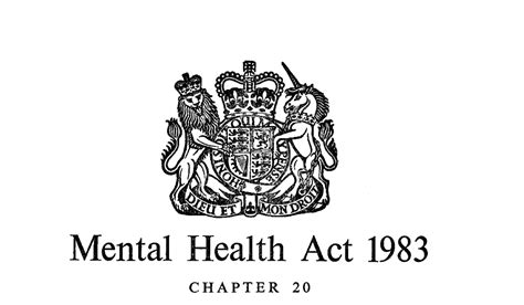 sectioned under mental health act uk the physical security act 1983 mental health cop
