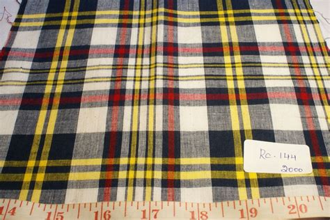 Madras Patchwork - madras fabric madras plaid plaid fabric patchwork