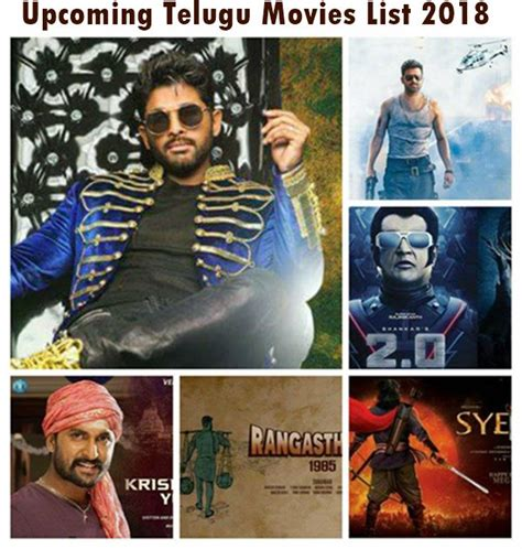 hollywood news movie release list upcoming new tollywood telugu movies list 2018 with