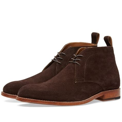 Handmade Chukka Boots - handmade mens chukka suede boots suede ankle boot