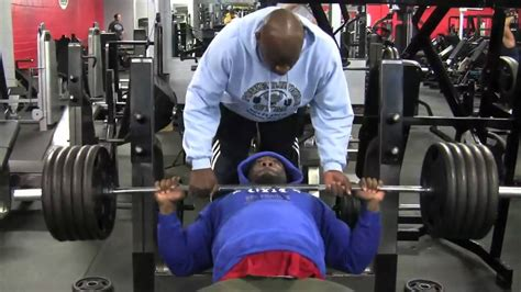 kai greene bench press gu 237 a de uso para el press de banca
