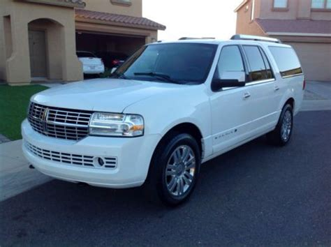 find used 2011 lincoln navigator l limited 5 4l auto nav camera loaded like new 58k mi in