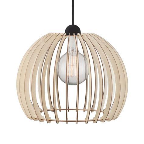 Decorative Ceiling Pendant - decorative wooden slat ceiling pendant with black