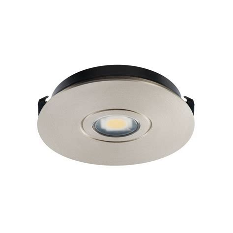 Juno Lighting Ustlr1 3k Sn Recessed Solo Task Under Recessed Cabinet Lighting