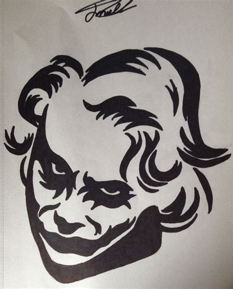 the joker tattoo designs the joker design by cy6erwolf on deviantart