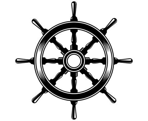 boat steering wheel logo boat steering wheel svg steering wheel svg nautical svg etsy