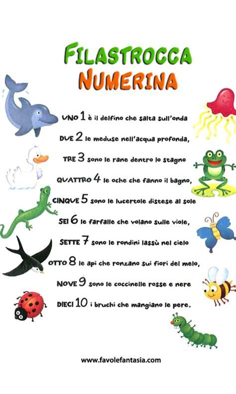 trova parole con queste lettere filastrocca numerina matematica