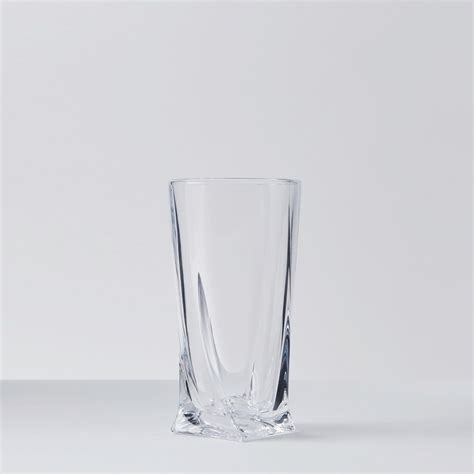Beverage Tumblers 460 Ml 14 9oz calypso iced beverage glasses set of 6 the touch of modern