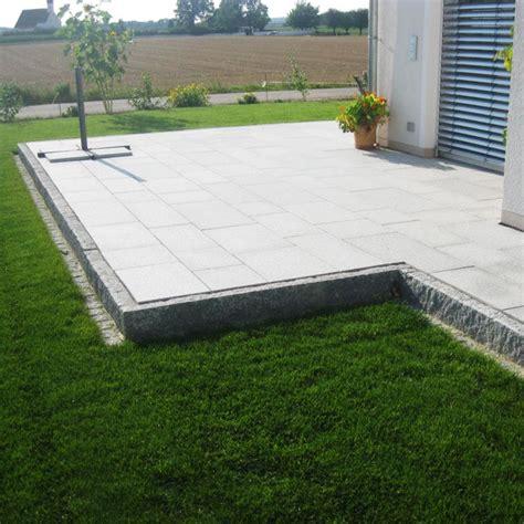pflasterarbeiten granitstufen und terrasse bollmeyer