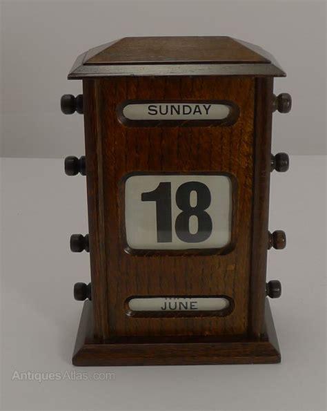 perpetual desk calendar antiques atlas antique oak perpetual desk