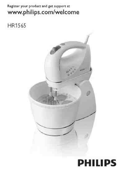 philips hr 1565 mixer manual for free now 3ef3b