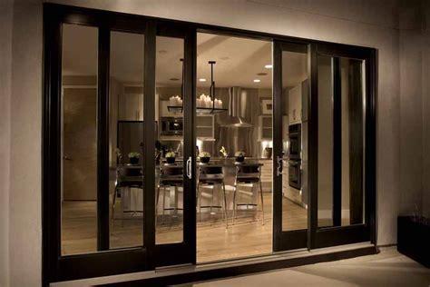 sliding glass doors  secure interior