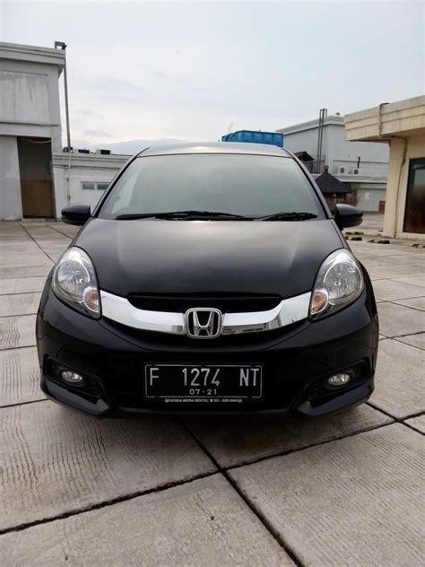 Honda Mobilio 1 5 E honda mobilio 1 5 e cvt matic 2016 hitam km 14 rban