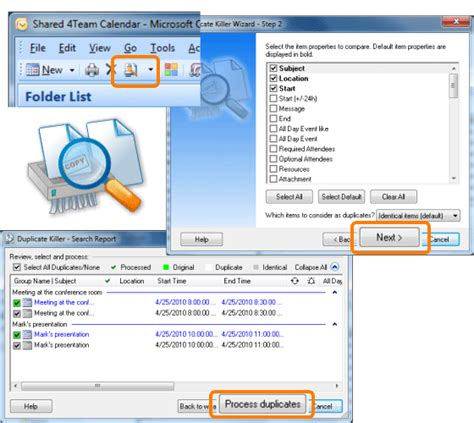 remove doodle calendar from outlook remove duplicates in outlook 2007 duplicate killer is
