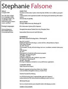 resume draft stephaniefalsone