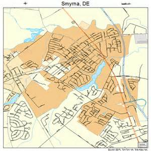 smyrna delaware map 1067310