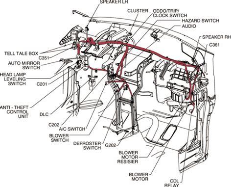 97 chevy blazer wiring diagram wiring diagram