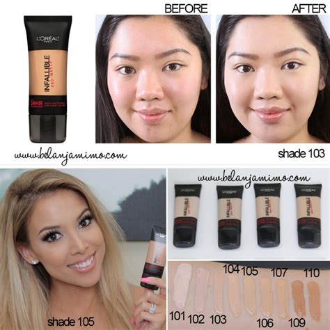 Harga Loreal Foundation Pro Matte l oreal cosmetics infallible pro matte foundation