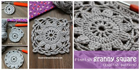 Home Decor Blog crochet granny square from frozen finland easy free