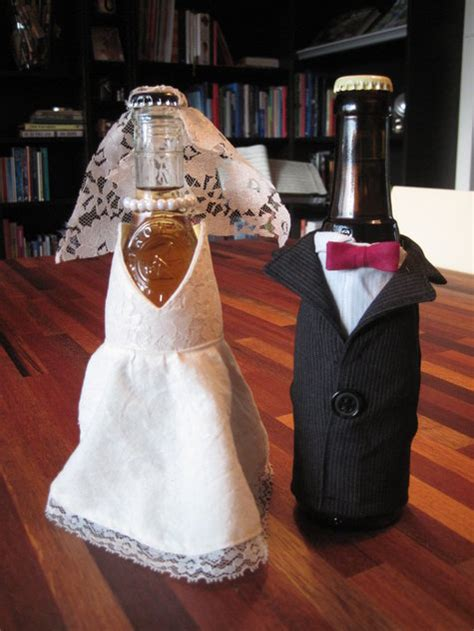 dressed beer bottles sewing projects burdastylecom
