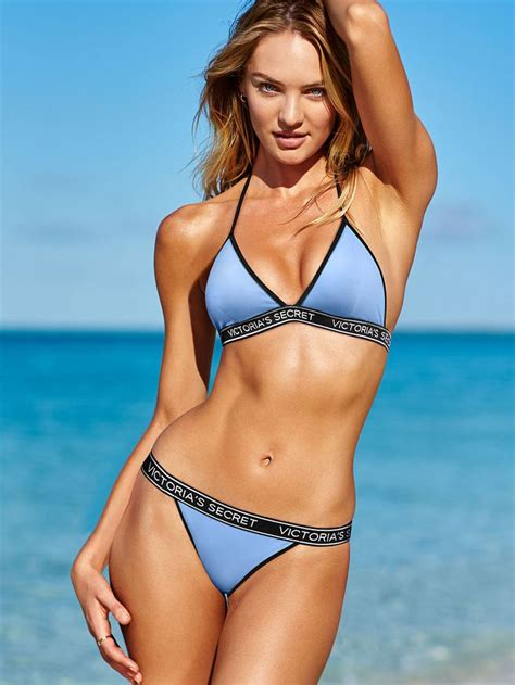 On Our Radar Victorias Secret Swim Collection Now In Stores by On Sale 20 00 The Logo Teeny Triangle Top S