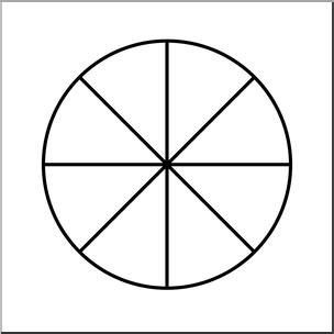 spinning wheel card template clip circle08 color 0 8 i abcteach abcteach