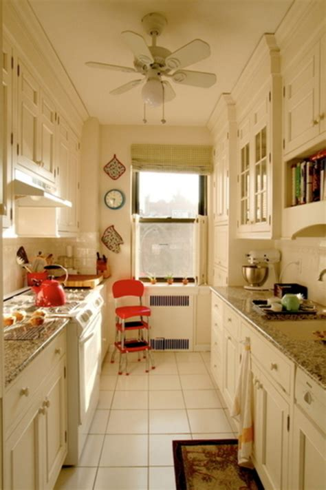 kitchen ideas for small kitchens galley very small galley kitchen