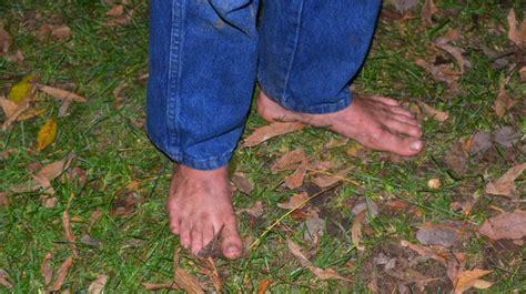 farmer feet this young man ran around the farm barefoot