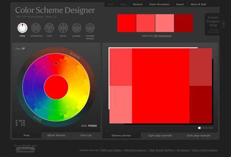 colour scheme creator 20 color combination tools for designers spyrestudios