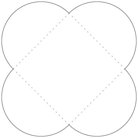 Petal Card Envelope Template Free Templates Pinterest Petal Envelope Template