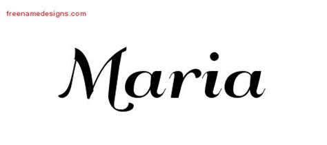 maria archives free name designs
