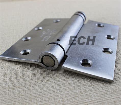 sus304 4 5 inch single stainless steel adjust self closing