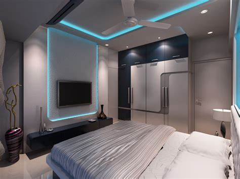 High End Residential Interior Design Project At Borivali High End Bedroom Designs
