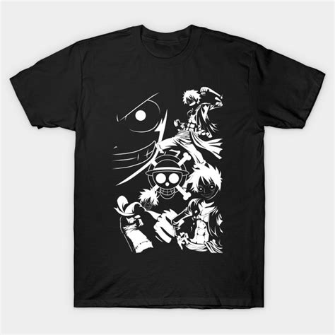 Straw Hat Tees straw hat pirate king white one t shirt