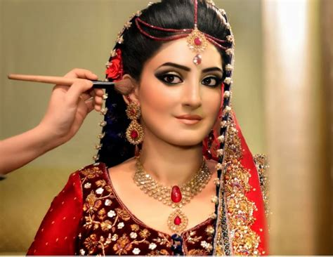 dulhan hairstyles images latest bridal make up 2014 special pakistani dulhan