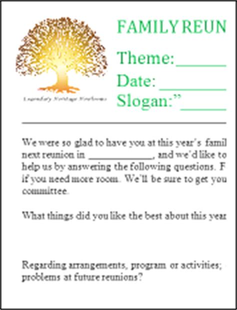 family reunion letter template family reunion letter sles