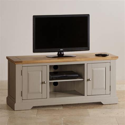grey wallpaper with oak furniture st ives grey tv unit with brushed oak top oak furniture land