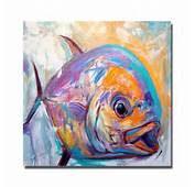 Abstract Goldfish Painting  Galleryhipcom The Hippest