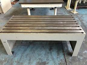 welding benches tee t slot table surface bench welding jigging table